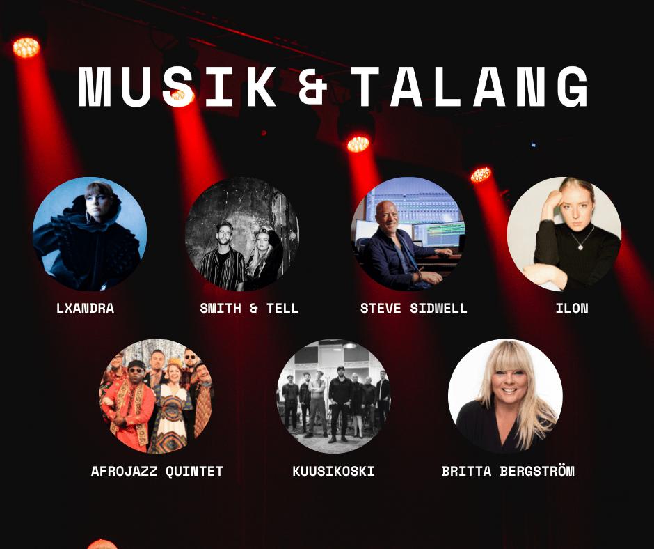 """Featured image for """"Programmet för Musik & Talang 2021 är lanserat!"""""""
