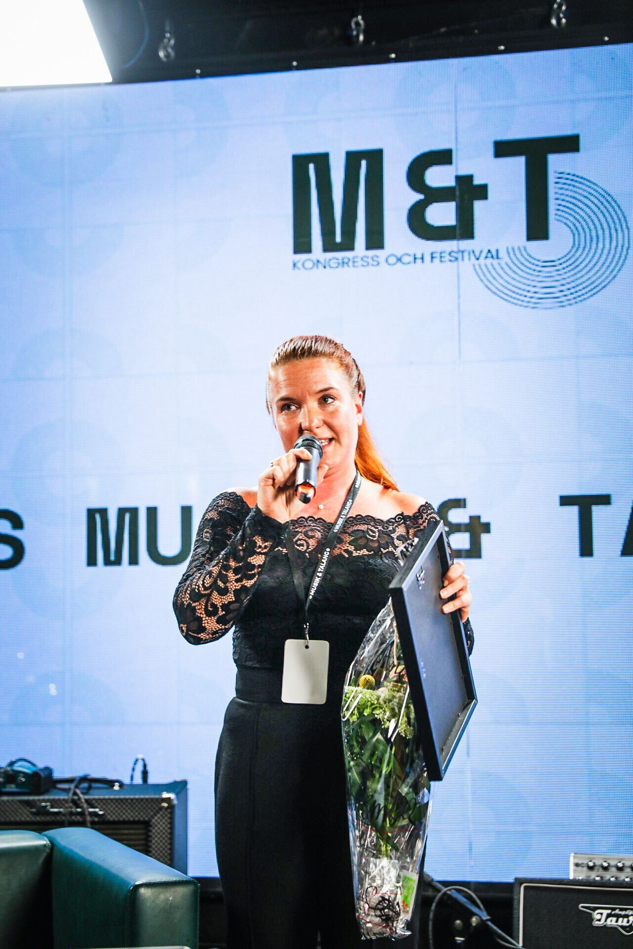 """Featured image for """"Amie Borgar tilldelas DUNKs förtjänstmärke i guld"""""""