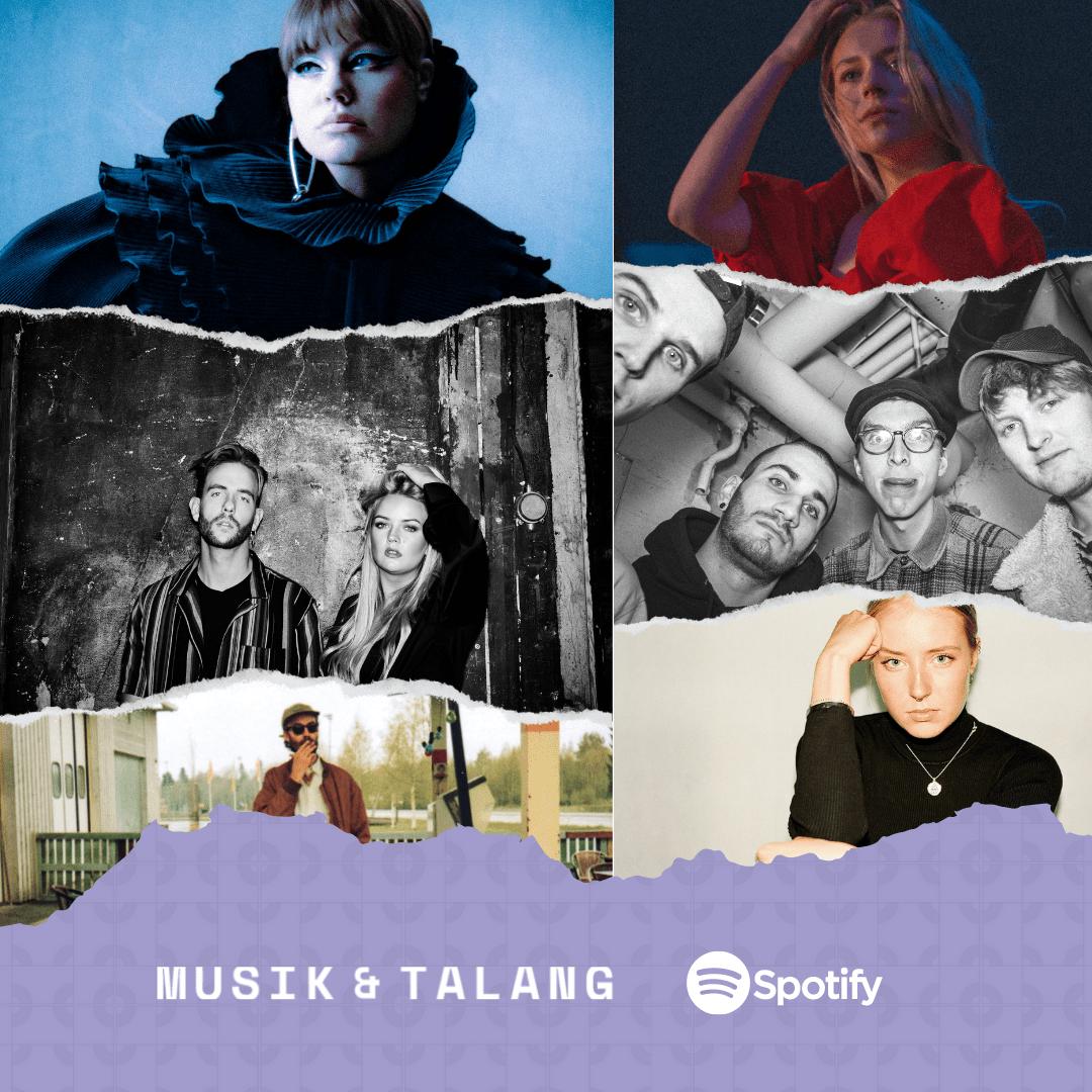 """Featured image for """"Nu finns Spotify-lista ute för Musik & Talang 2021!"""""""